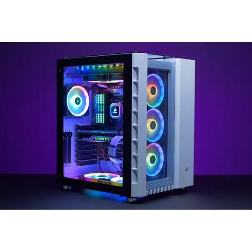 Vỏ máy tính Corsair 680X RGB TG Black / White