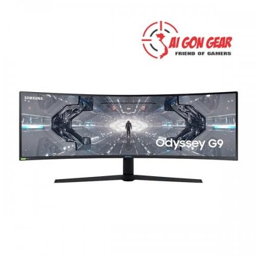 MÀN HÌNH LCD 49 Samsung Odyssey G9 LC49G95TSSEXXV DualQHD 240Hz G-Sync Cong Chính Hãng