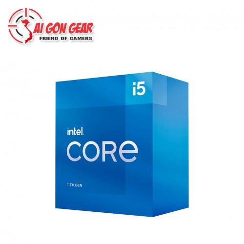 CPU Intel i5 11400 Box Hãng