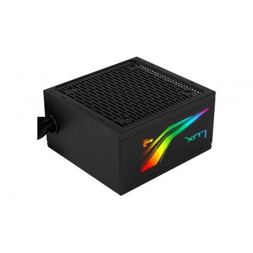 Nguồn Aerocool LUX RGB 550W 80 Plus Bronze (RGB SYNC)