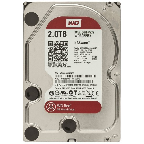 Ổ cứng HDD Western Digital 2TB Red