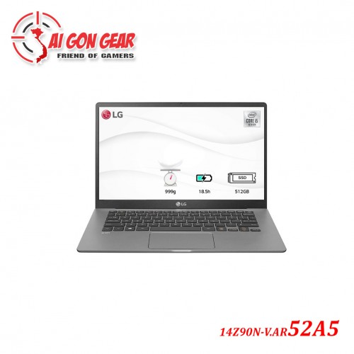 Laptop LG Gram 14Z90N-V.AR52A5 Xám