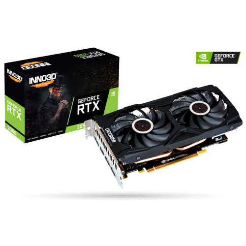 Card màn hình INNO3D GEFORCE RTX 2060 GAMING OC X2 6GB