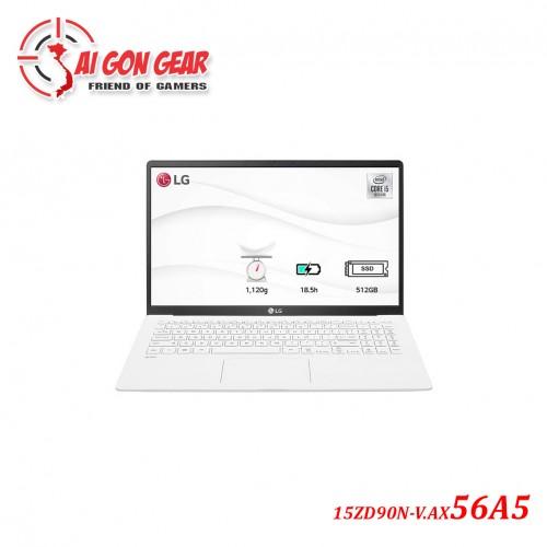 Laptop LG Gram 2020 15ZD90N-V.AX56A5 - Trắng