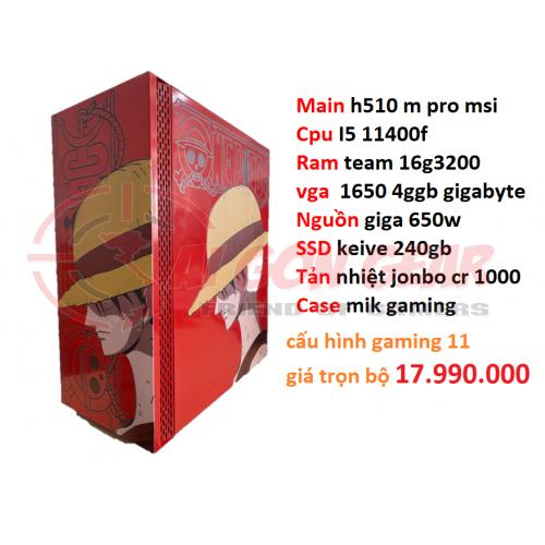 PC GAMING THẾ HỆ 11 - i5 11400f