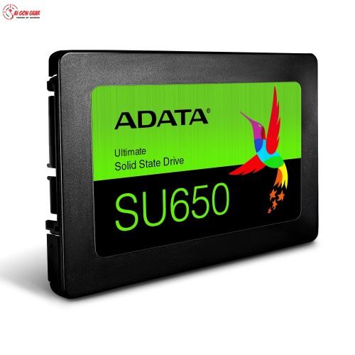 Ố cứng Ổ CỨNG SSD ADATA SU650 120GB SATA(TMC)