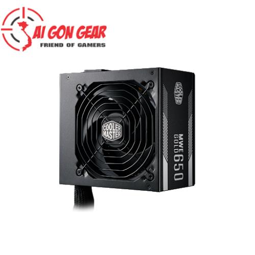 Nguồn máy tính : MWE GOLD 650W A/EU Cable