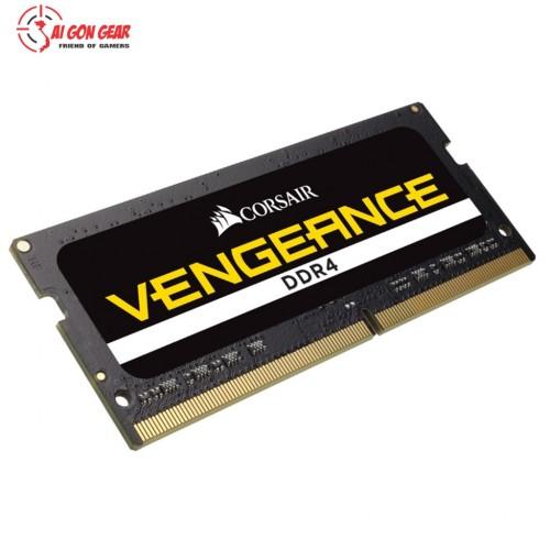 Ram máy tính Corsair DDR4,  2400MHz 16GB SODIMM, CL16(Chính hãng)