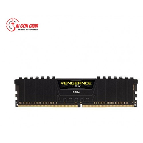 Ram máy tính :Corsair DDR4 Vengeance LPX Heat spreader, 3000MHz 8GB đen (CMK8GX4M1D3000C16)