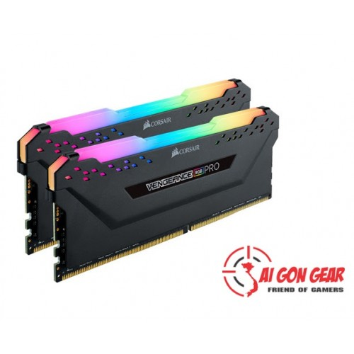 Ram coirsair : Corsair DDR4, 3600MHz 32GB Vengeance RGB PRO  Heat spreader