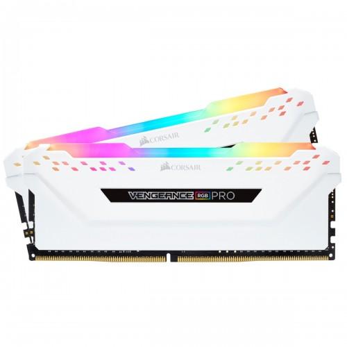 RAM CORSAIR VENGEANCE RGB PRO HEAT SPREADER 16GB (2X8GB) DDR4 Bus 3000 White