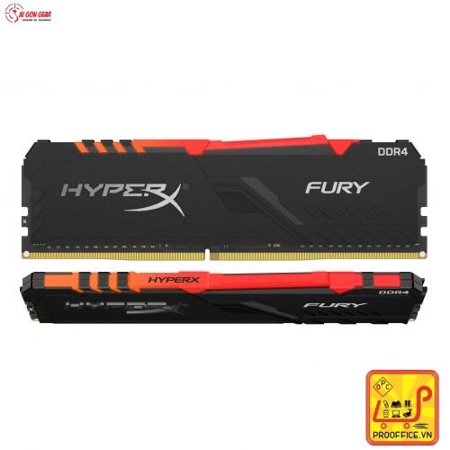 RAM MÁY TÍNH 32GB 3200MHz DDR4 CL16 DIMM (Kit of 2) HyperX FURY RGB