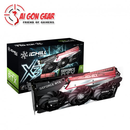 Card Đồ Họa VGA INNO3D GEFORCE RTX 3060 ICHILL X3 RED
