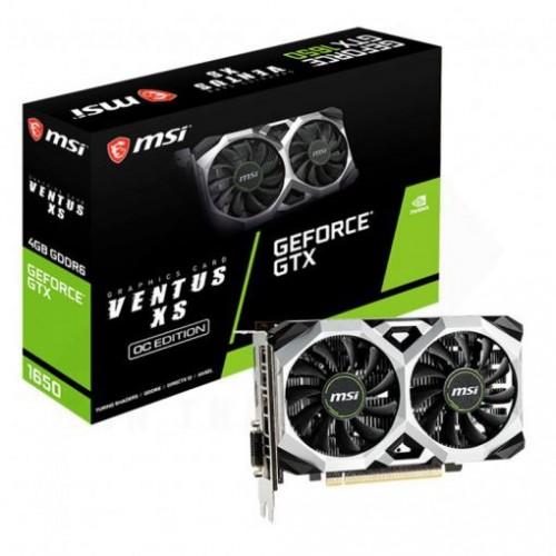 Card màn hình MSI GeForce GTX 1650 D6 VENTUS XS OC 4GB GDDR6