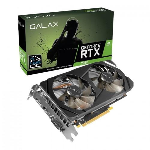 Card màn hình GALAX RTX 2060 6GB GDDR6 (1Click-OC)