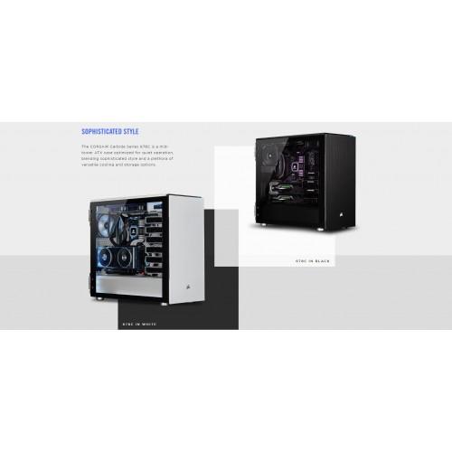 Vỏ máy tính Corsair 678C TG Black / White