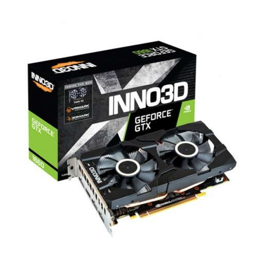 Card màn hình INNO3D GeForce GTX 1660 TWIN X2 6GB GDDR6