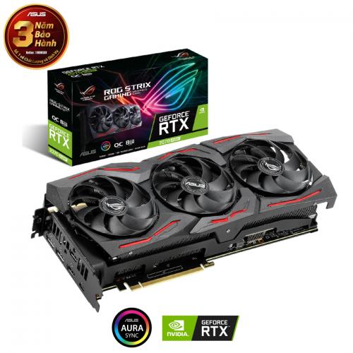 Card màn hình Asus ROG STRIX RTX 2070 Super O8G GAMING