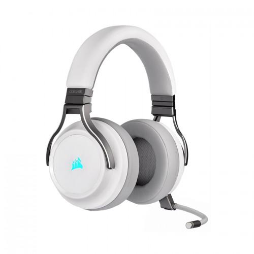 Tai nghe Corsair Virtuoso RGB Wireless - White