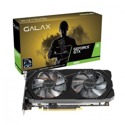 Card màn hình GALAX GeForce GTX 1660 (1-Click OC) 6GB GDDR5 New BH 12TH