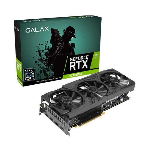 Card màn hình GALAX RTX 2070 Super EX Gamer Black Edition (1-Click OC) 8GB