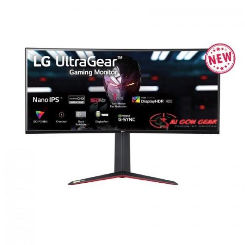 Màn hình máy tính LG UltraGear™ 34 Nano IPS Cong QHD 160Hz 1ms (GtG) VESA Display HDR™ 400 NVIDIA® G-SYNC® Compatible 34GN850-B