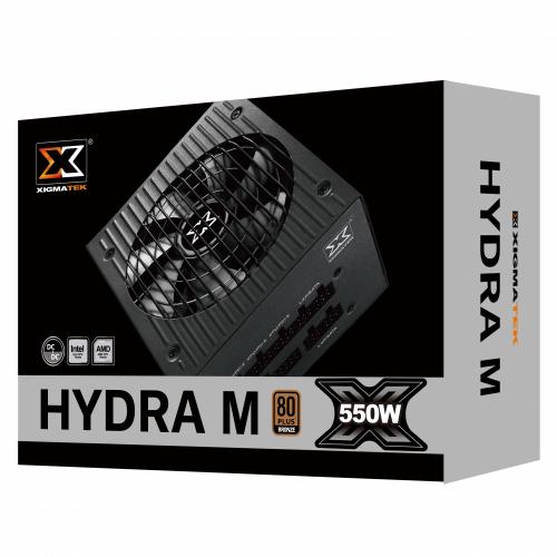 Nguồn XIGMATEK HYDRA M 550W - 80 Plus BRONZE