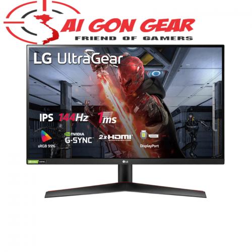 Màn hình LG 27GN600-B (27inch/FHD/IPS/144Hz/1ms/350nits/HDMI+DP+Audio)