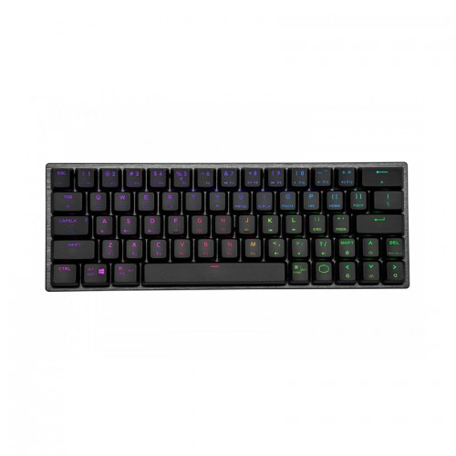 Bàn phím Cooler Master SK622 Black (Bluetooth/Wireless/USB/RGB/Red sw)