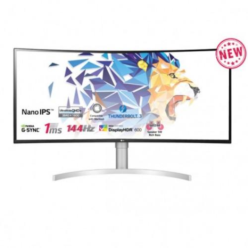 Màn hình máy tính LG UltraWide™ 38 Nano IPS Cong QHD+ VESA Display HDR™ 600 NVIDIA® G-SYNC® Compatible Thunderbolt 38WN95C-W