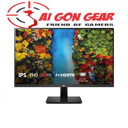Màn hình LG 27MP500-B (27inch/FHD/IPS/75Hz/5ms/250nits/HDMI+Audio/Freesync)