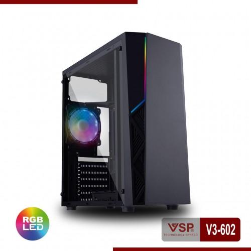 Vỏ Case VSP V3-602 Sẵn Dãy Led RGB ( Chưa Fan )