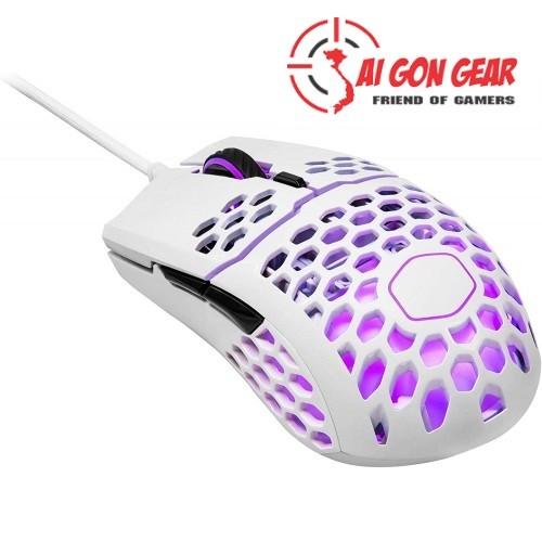 Chuột máy tính GAMING MOUSE MM710 (White Glossy)(chính hãng)