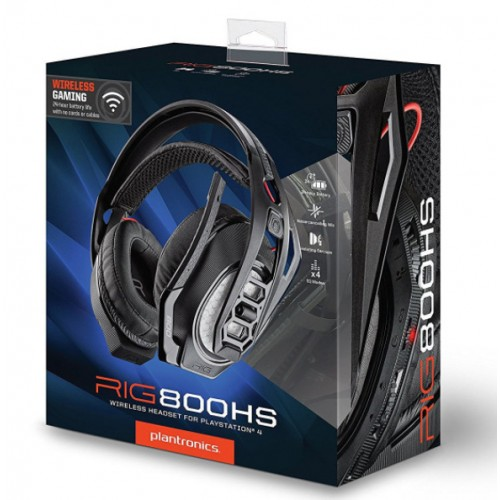 Plantronics RIG 800HS - WIRELESS STEREO HEADSET FOR PLAYSTATION 4