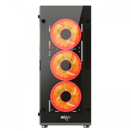 CASE AIGO ATLANTIS (3 RED RING FAN)