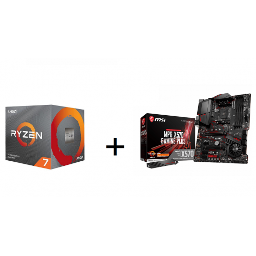 Combo CPU Ryzen 7 3800X box nhập + Main MSI X570 Gaming Plus