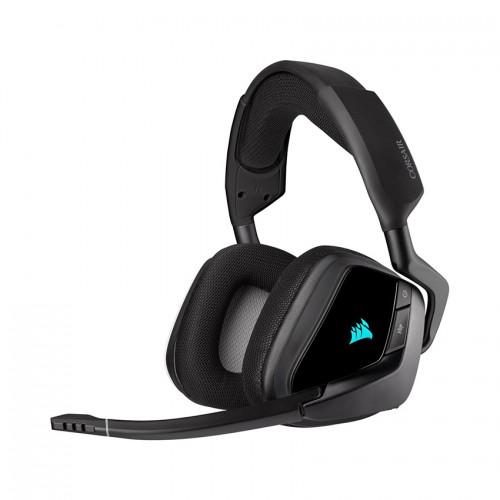 Tai nghe chơi game không dây Corsair VOID RGB ELITE 7.1 Carbon/ White