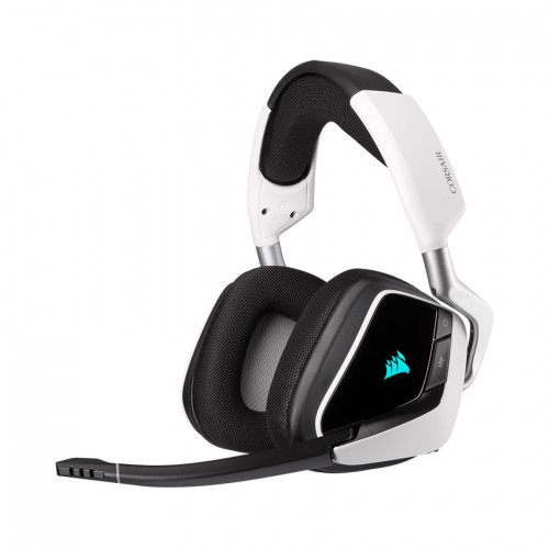 Tai nghe chơi game không dây Corsair VOID RGB ELITE 7.1 White