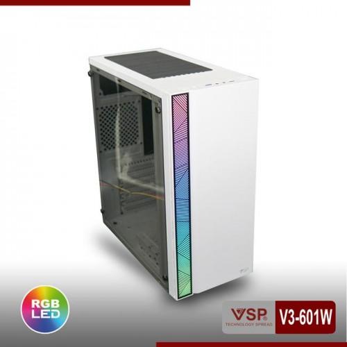 Vỏ Case VSP V3-601W / V3-601P Sẵn Dãy Led RGB ( Chưa Fan )