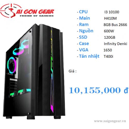 PC Gaming CPU I3 10100 / 8GB / VGA 1650