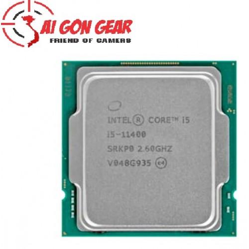CPU INTEL CORE I5-11400 Tray 12M CACHE, 2.60 GHZ UP TO 4.40 GHZ, 6 NHÂN 12 LUỒNG