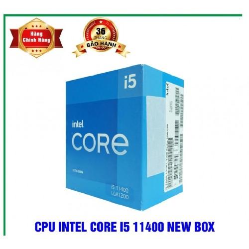CPU Intel Core i5-11400 Box CTY CHECK Online