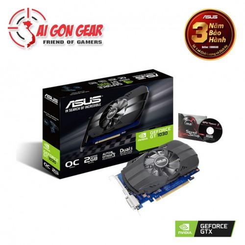 Card màn hình ASUS 1030 PH-GT1030-O2G (2GB GDDR5, 64-bit, DVI+HDMI)