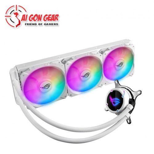 TẢN NHIỆT CPU ASUS ROG STRIX LC 360 RGB WHITE EDITION (TMC)