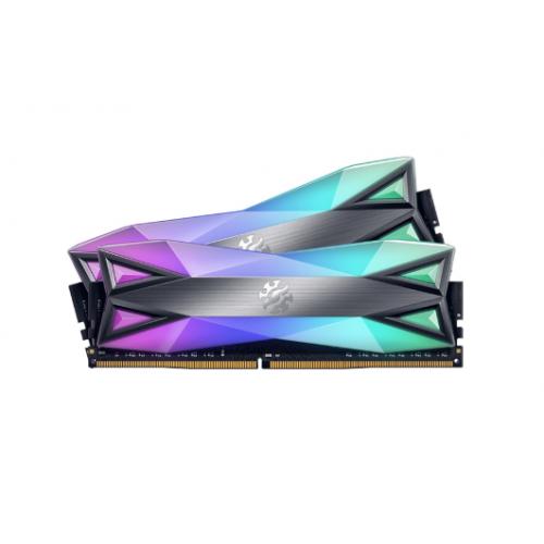 RAM ADATA DDR4 XPG SPECTRIX D60-LED 16GB (2x8G) bus 3600 TUNGSTEN GREY RGB