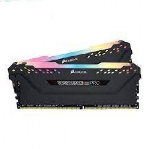 Corsair Vengeance RGB PRO 64GB (2 x32GB) DDR4 3200C16 — Black