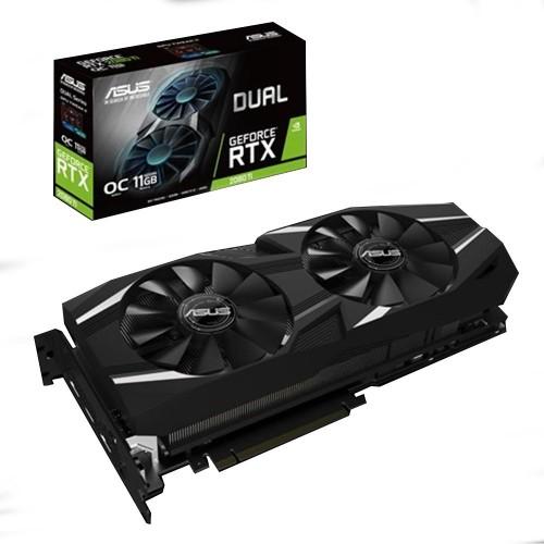 ASUS Dual GeForce® RTX 2080 Ti OC edition 11GB GDDR6