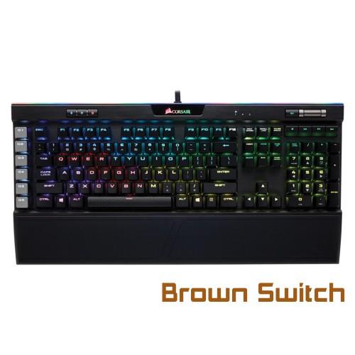 Bàn phím cơ CORSAIR K95 Platinum (Full size/Cherry MX Brown/RGB)