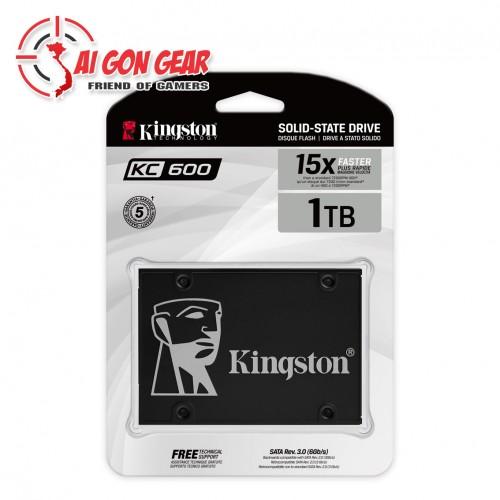 Ổ CỨNG MÁY TÍNH SSD Kingston KC600 1TB