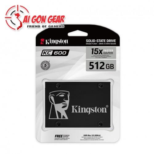 Ổ CỨNG MÁY TÍNH SSD Kingston KC600 512GB